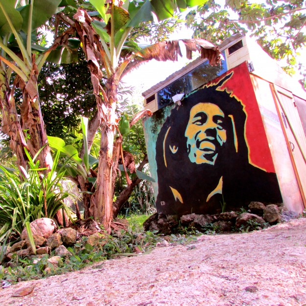 Some guy named Bob. His picture is all over the place in Belize, even on the bathrooms at Backpackers Oasis.  He was a musician.