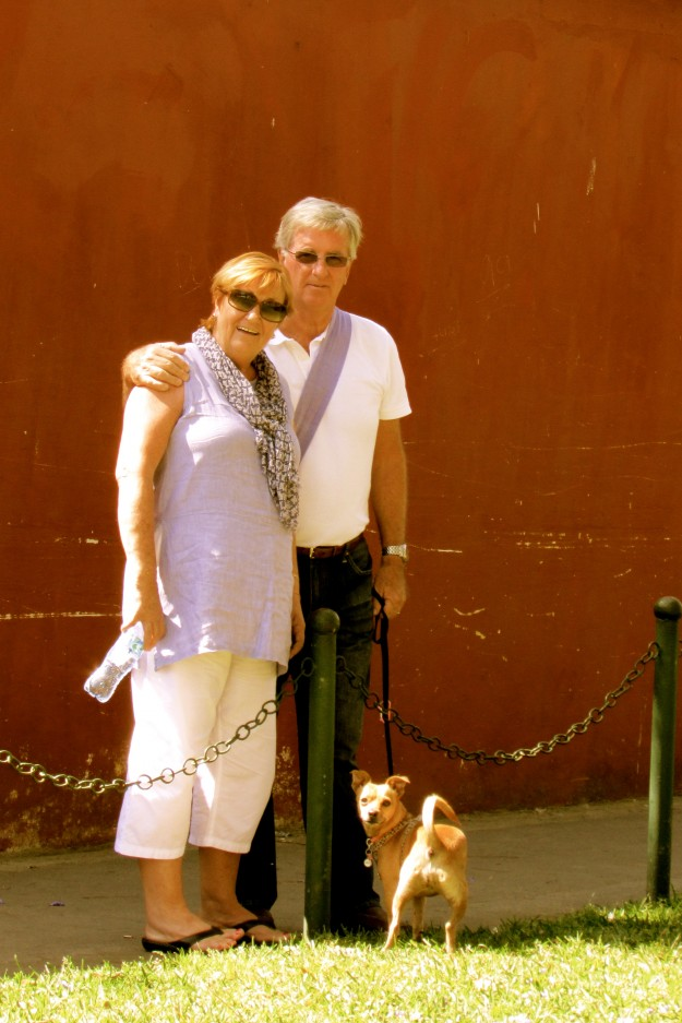 Victoria' parents, Lorna and David, came to see me in Antigua, Guatemala. I love them so so SO much!
